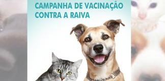 Campanha Nacional de Vacinação contra a Raiva Animal.