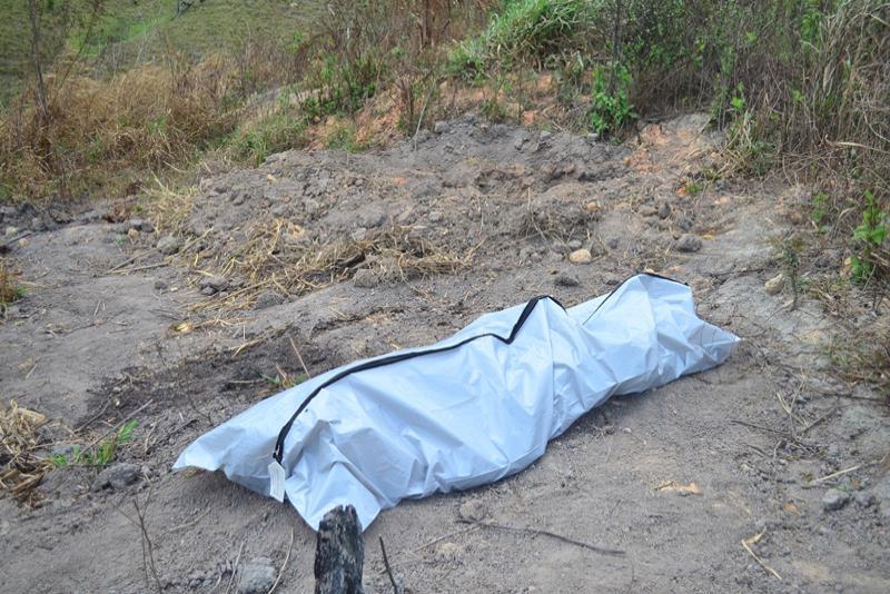 Cadáver é encontrado em Arandu(Foto:Divulgação).