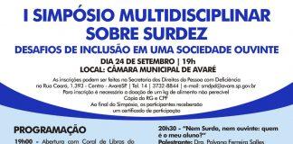 Secretaria promove I Simpósio Multidisciplinar sobre Surdez